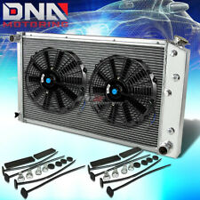 73-80 CHEVY C/K SERIES C10/K10 PICKUP 3-ROW FULL ALUMINUM RACING RADIATOR+X2 FAN