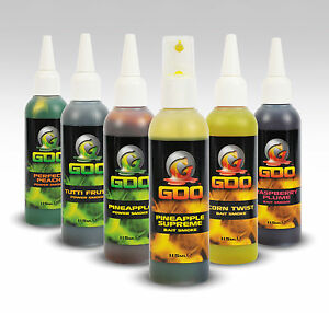 Korda Kiana Goo Power Smoke 115ml Bait Additive Liquid Dip Specimen Carp Fishing
