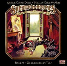 Sherlock-Holmes  CD  Folge  34  Die quietschende Tür  OVP Neu