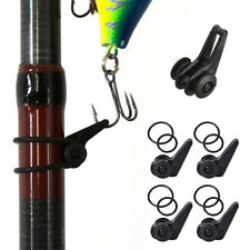 Fishing Rod Pole Hook Keeper Lure Spoon Bait Holder Tackle Tools Kit