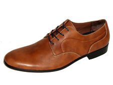 Original Penguin Pederson Oxford Lace Up Men's Dress Shoes - Toffee Size 9