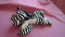 TY beanie babies Ziggy the zebra 24 December 1995 PVC Style No. 4063