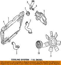FORD OEM 98-02 E-350 Econoline Club Wagon-Engine Cooling Fan Clutch AU2Z8A616TA