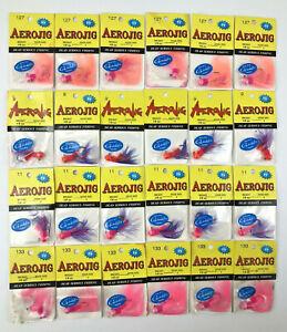 Aerojigs Jigs Fishing Lures w/ Gamakatsu Hooks Various Colors Lot of 24