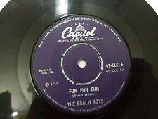 "THE BEACH BOYS 45 CLE 5 RARE SINGLE 7"" INDIA INDIAN 45 rpm VG+"