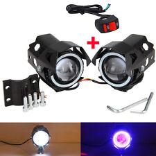 2X Motorrad LKW U8 125W LED Scheinwerfer Zusatzscheinwerfer Fog Lampe Für BMW