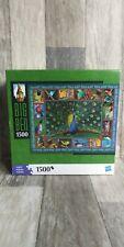 Hasbro Big Ben Puzzle 1500 pc Exotic Birds Collage