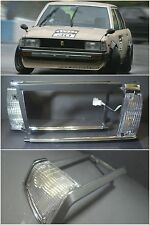 Toyota Corolla KE70 TE71 TE72 Square Head Lamp Lights Housing Trim Cover LH=RH