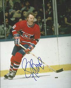 GFA Montreal Canadiens LARRY ROBINSON Signed 8x10 Photo AD1 COA