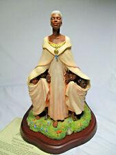 New Thomas Blackshear's Ebony Visions The Comforter Figurine Item 37024