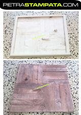 Stone veneer rubber mold for concrete or gypsum Polyurethane wood mold