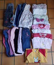 Lot 28 Vêtements fille 18 Mois hiver