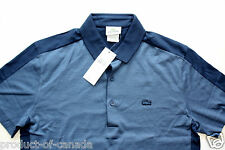Lacoste Polo Men's size 3 New with Tag Regular Fit DH8589 Blue Stripes