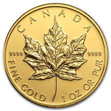 2009 Canada 1 oz Gold Maple Leaf BU - SKU #46352