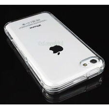 High Quality Soft Back Transparent Clear Case Cover Protector for iPhone 5C