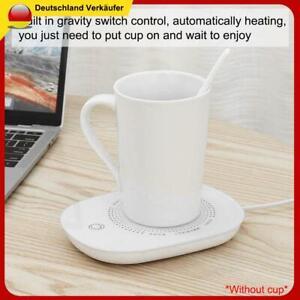 16W USB Port Tassenwärmer Getränke Tee Kaffeewärmer Heizplatte Warmhalteplatte