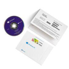 **GEN** Microsoft Windows 10 Pro Professional 64bit DVD +Product license Key New