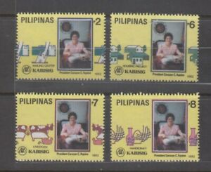 Philippine Stamps 1992 Kabisig (President Corazon Aquino) Complete set MNH