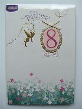 Disney Fairies birthday card for age 8 (EIGHT) by Hallmark