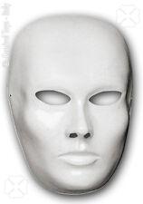Masque neutre homme blanc à décorer [00170] loisirs creatifs costumes carnaval
