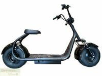 Electric Scooter 2000W Fat Tire Bike Motorcycle 18AH 60V Lithium Battery 18 MPH