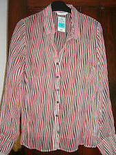 Marks and Spencer Striped Button Cuff Women's Tops & Shirts