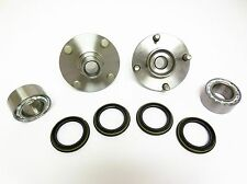 Front Left & Right Wheel Hub & Bearing Set For Nissan  Altima 1998-2001