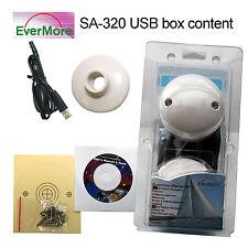 Nautica Ricevitore USB Evermore SA-320 Antenna Navigazione GPS 12 Canali -143dbm