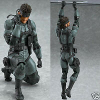 US! Max Factory Figma No.243 Snake Figure Metal Gear Solid 2 Sons of liberty Toy