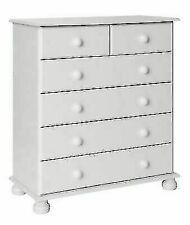 Furniture To Go 7375B-101 Copenhagen 6 Drawer Chest - White