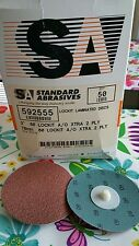 Standard Abrasives™ Roloc Quick Change TR A/O Extra 2 Ply Disc 60 Grit box of 33