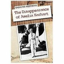 The Disappearance of Amelia Earhart (Unsolved Mysteries (Abdo))-ExLibrary