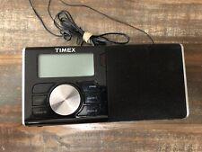 Timex TM80 Radio Alarm Clock SD Flash Drive Wake and Sleep to Music