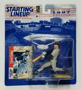 STEVE FINLEY San Diego Padres Kenner Starting Lineup MLB SLU 1997 Figure & Card