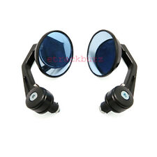 """Motorcycle Round 7/8"""" Handle Bar End Rear View Side Mirror For BMW"""