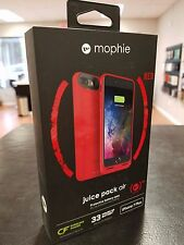 IPHONE 7 PLUS Mophie Juice Pack Air External Battery WIRELESS CHARGING Case RED