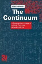 The Continuum : A Constructive Approach to Basic Concepts of Real Analysis by...
