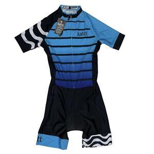 Kafitt Triathlon Women's Cycling Jersey One Piece Jumpsuit Short Sleeve M NWT