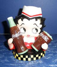 Vandor Betty Boop Soda Jerk Coca-Cola Shakers- New in Box- #11330