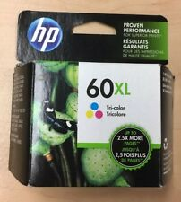 HP 60XL Tri Color Ink Cartridge CC644WN New Factory Sealed Original Box 10/2018