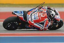 Scott Redding Hand Signed OCTO Pramac Ducati 12x8 Photo 2017 MotoGP 3.