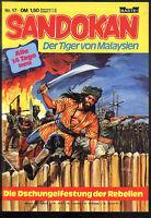 Sandokan Der Tiger von Malaysien Nr.17 von 1979 - TOP Z1 BASTEI ABENTEUER COMIC