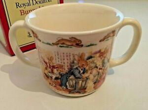 Royal Doulton Bunnykins Christening Mug Bone China 1994 Boxed