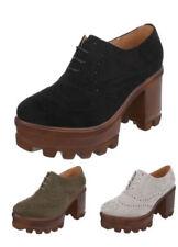 Damen-Schnürschuhe mit sehr hohem Absatz (größer als 8 cm) für die Freizeit