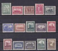 NEWFOUNDLAND 1928, SG# 164-178, CV £140, MH/Used