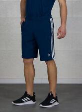Pantaloncini da uomo blu per palestra, fitness, corsa e yoga taglia S