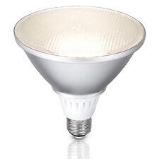 CLA Lighting Outdoor LED Light Globe PAR38 E27 15w Spot Warm White IP65 SUB1