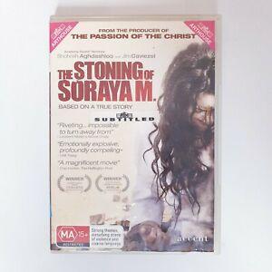 The Stoning Of Soraya M DVD Region 4 PAL Free Postage - Arthouse Drama