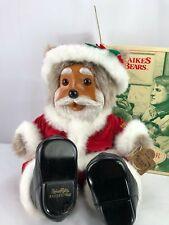 RAIKES BEARS Santabear - Santa Claus bear new in box with certificate