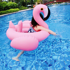 Flamingo Kid Baby Seat Ring Inflating Inflatable Swimming Aid Trainer 6-24M Pool